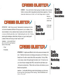 Crisis Buster Study Guide